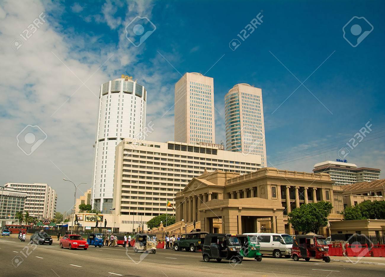Colombo Sri Lanka 15 Juni 2014 Colombo Ist Die Größte Stadt
