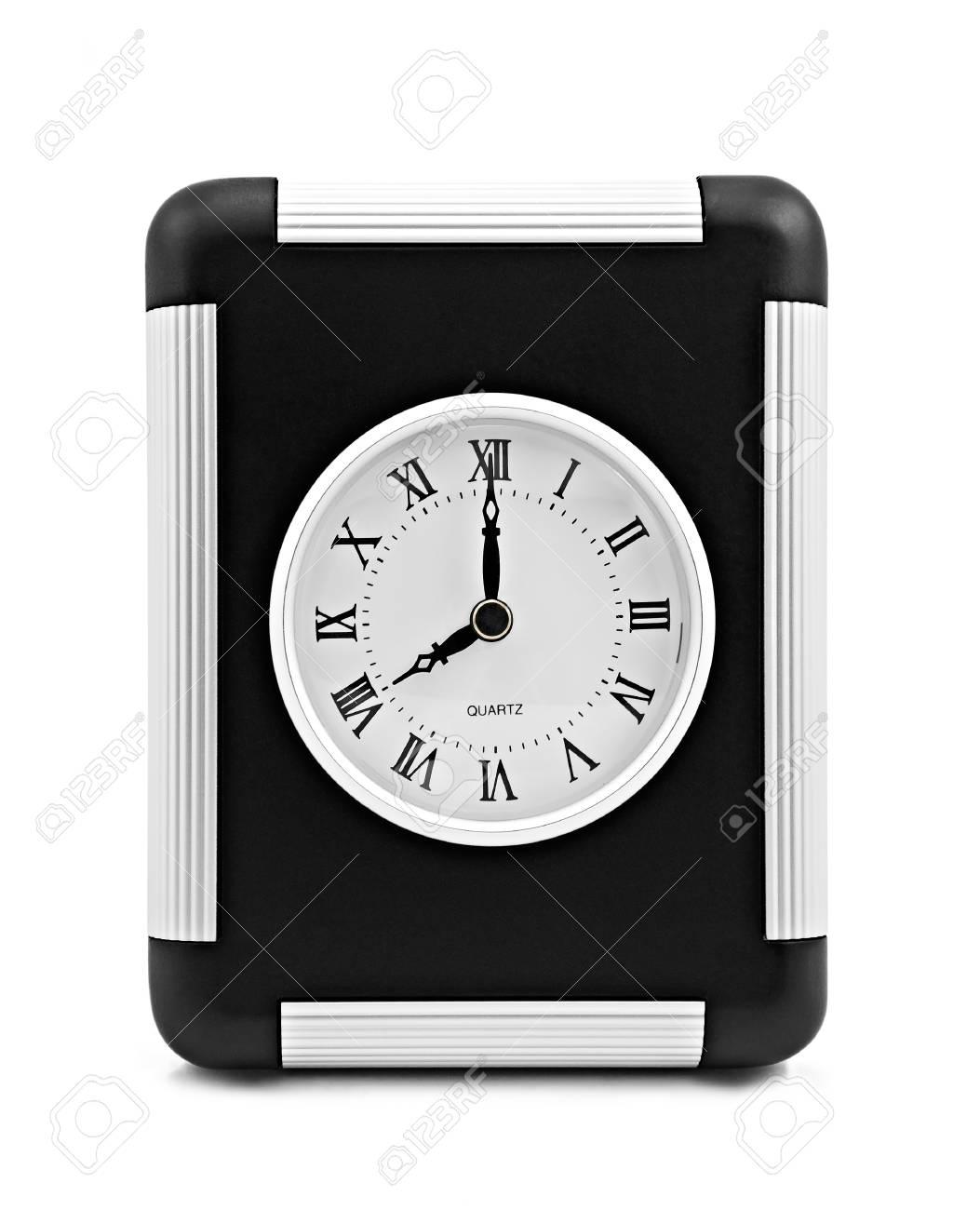 Modern square clock Stock Photo - 13110814