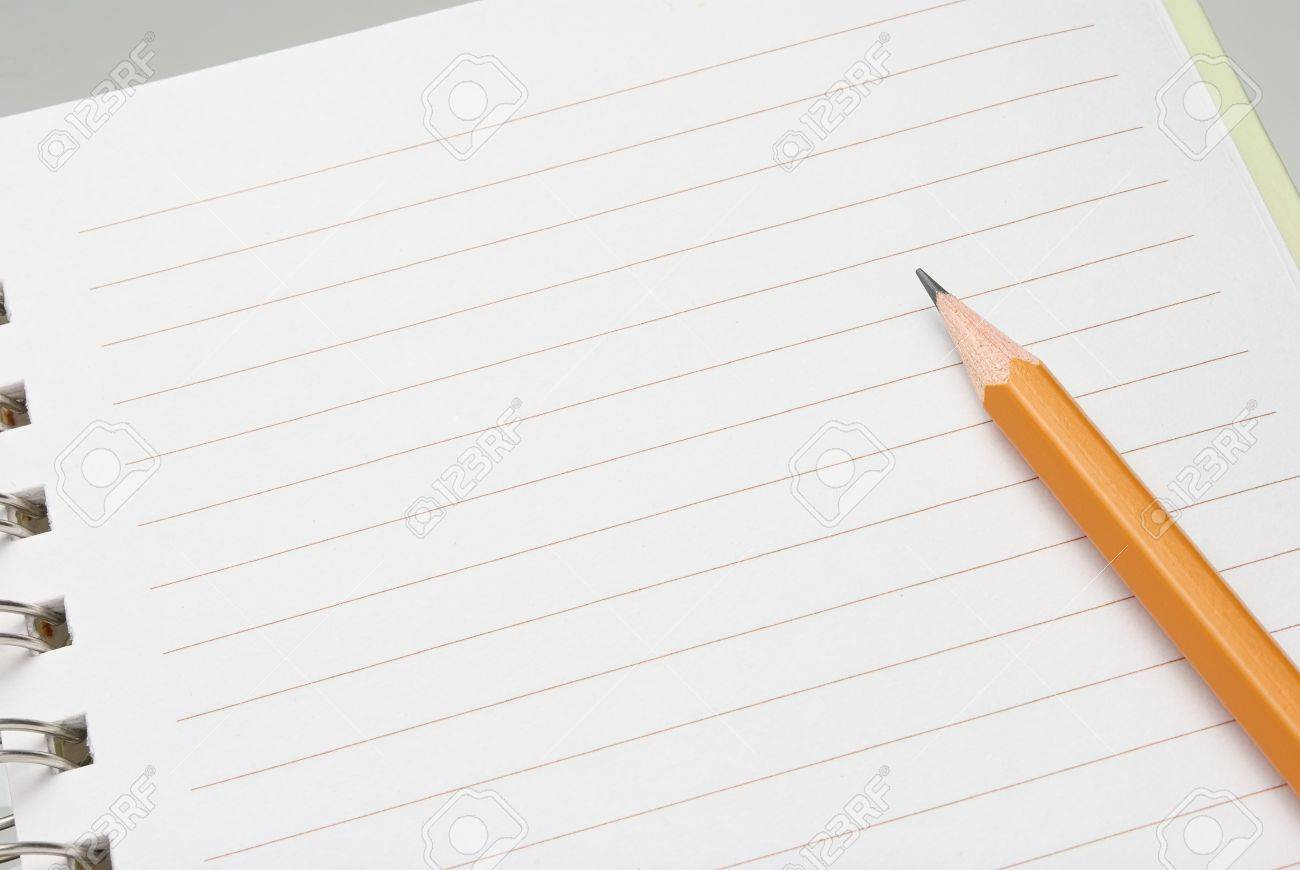 Pencil On Paper Stock Photo, Picture And Royalty Free Image. Image ...