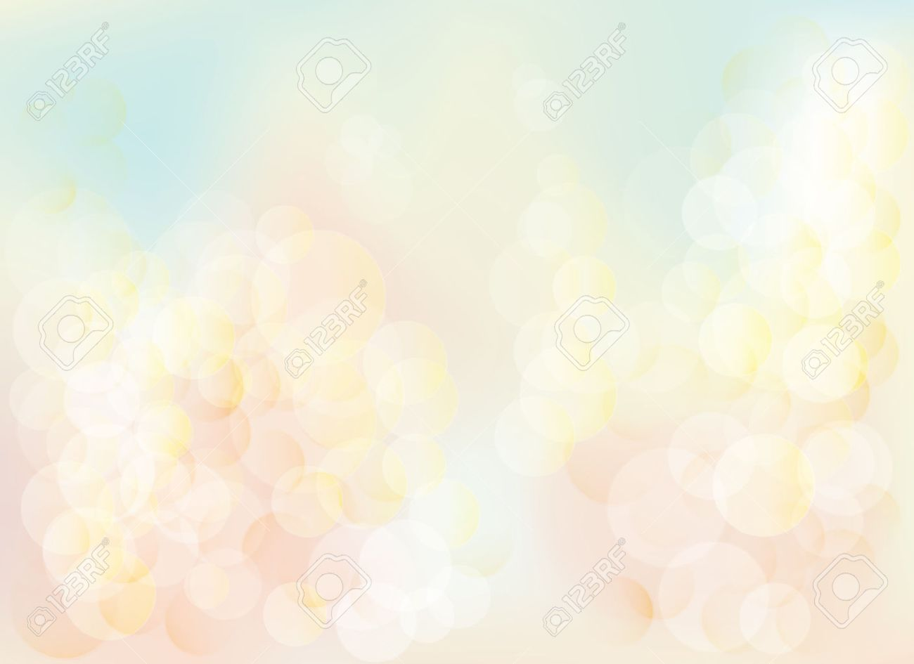 Blurred bokeh pastel lights background Abstract background with pastel colors bokeh. The esp file contains gradient mesh. - 58279703