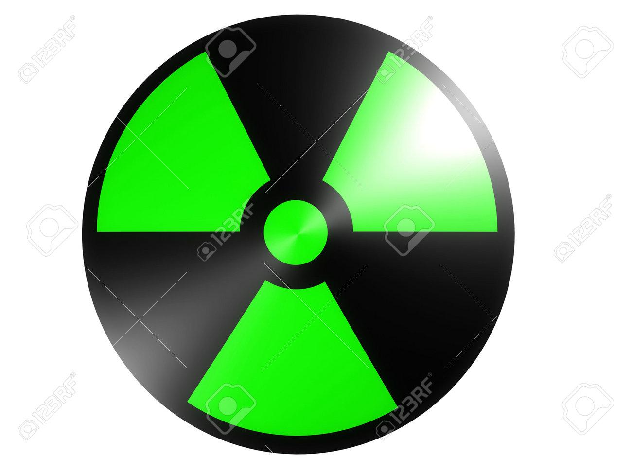 radioactive sign Stock Photo - 543513