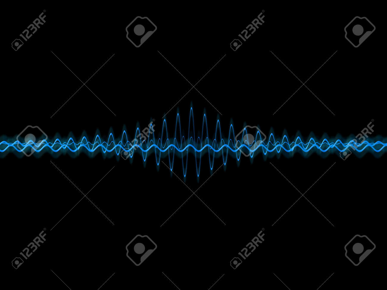 music waves Stock Photo - 824366