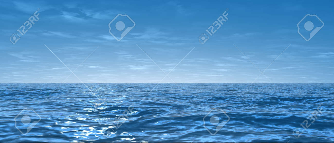 blue ocean Stock Photo - 1066505