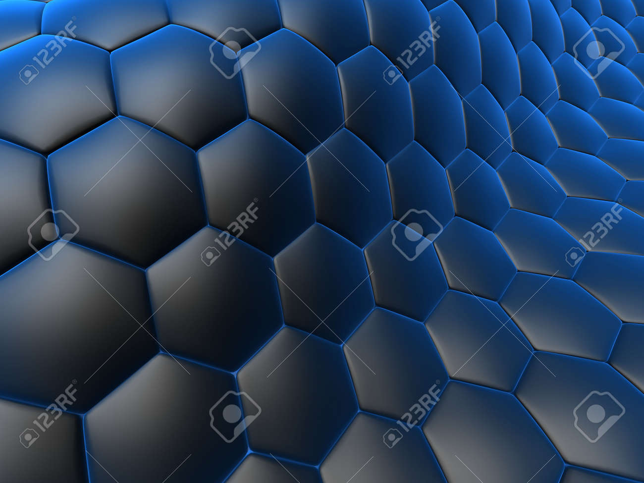 abstract cells Stock Photo - 1354703