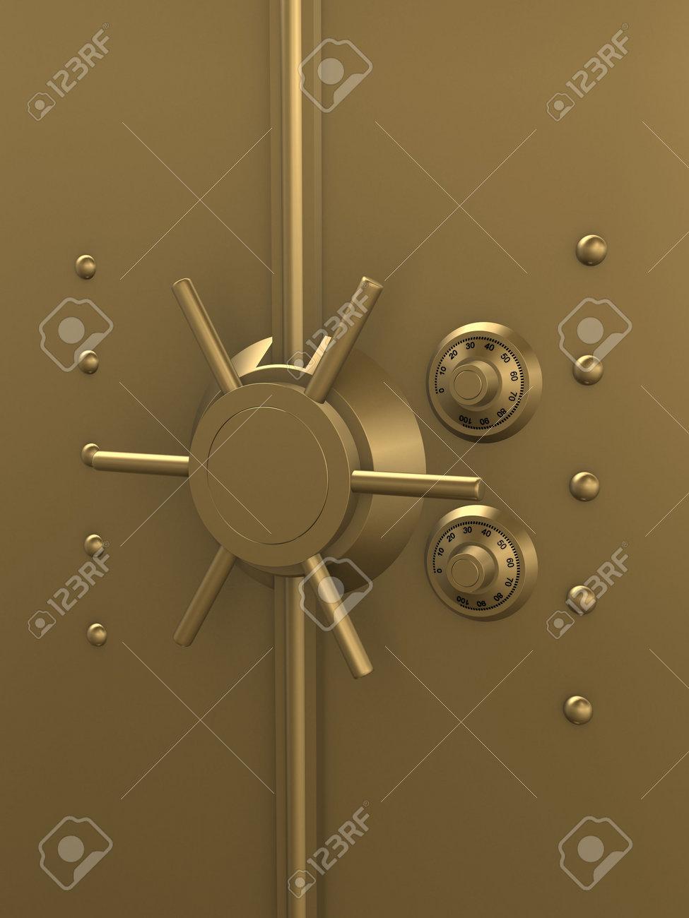 golden vault Stock Photo - 2873183