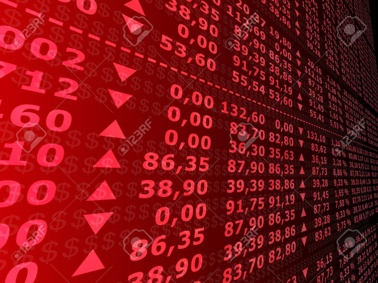 stock market Stock Photo - 2902503