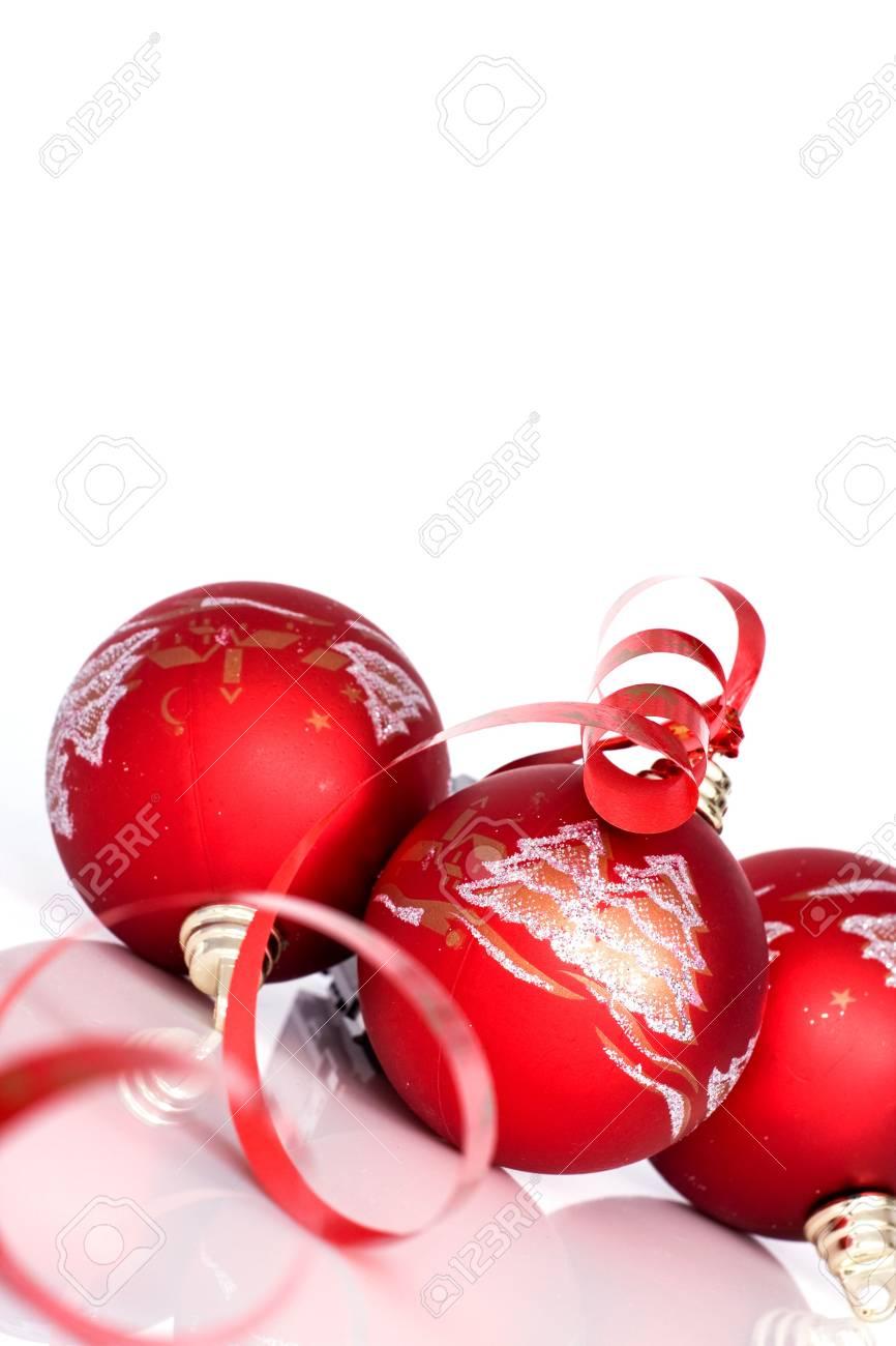 Red balls - Christmas decoration Stock Photo - 5869637