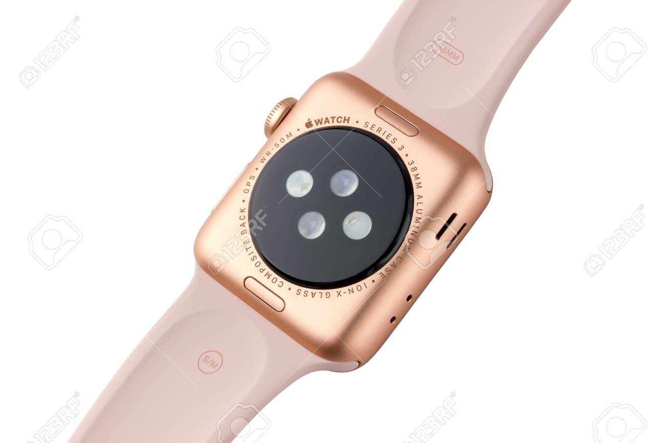 brand new c77c3 f78a2 February 2018. Apple Watch Series 3 colors gold Aluminum Case..