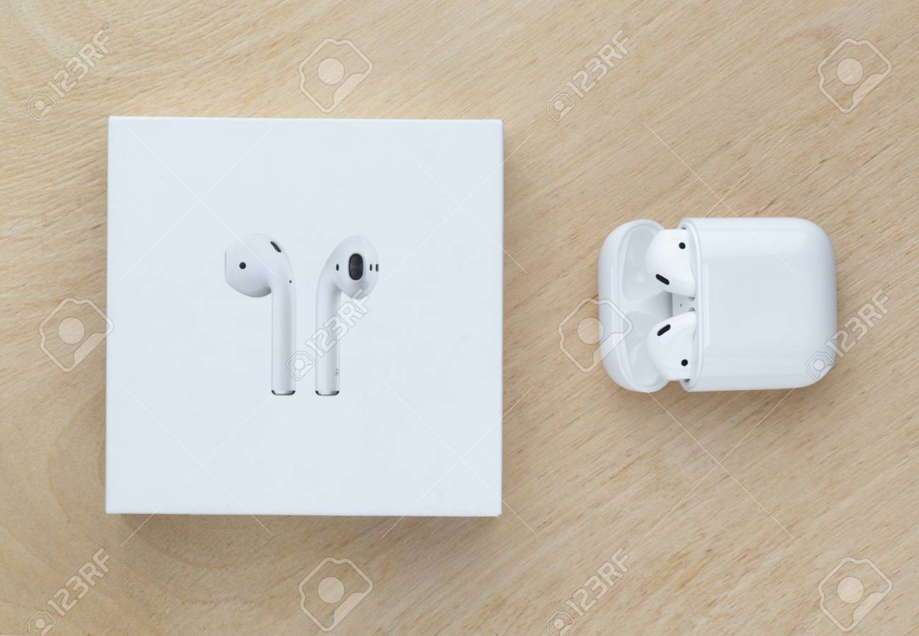 Rostov On Don Russia December 2018 Apple Airpods In A Box