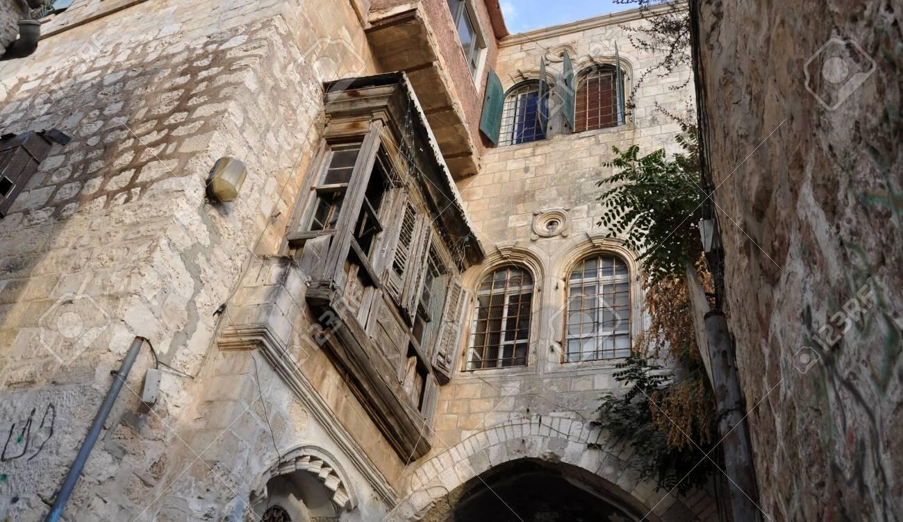 Old Buildings and Old City Street, Jerusalem - 146047940