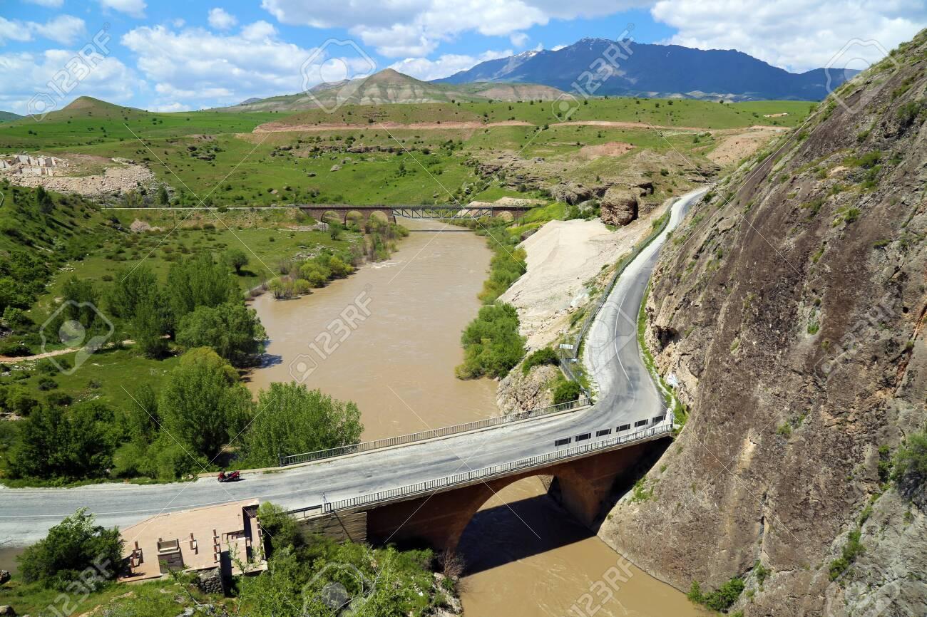 Euphrates River, Kemah in Erzincan - 146345974