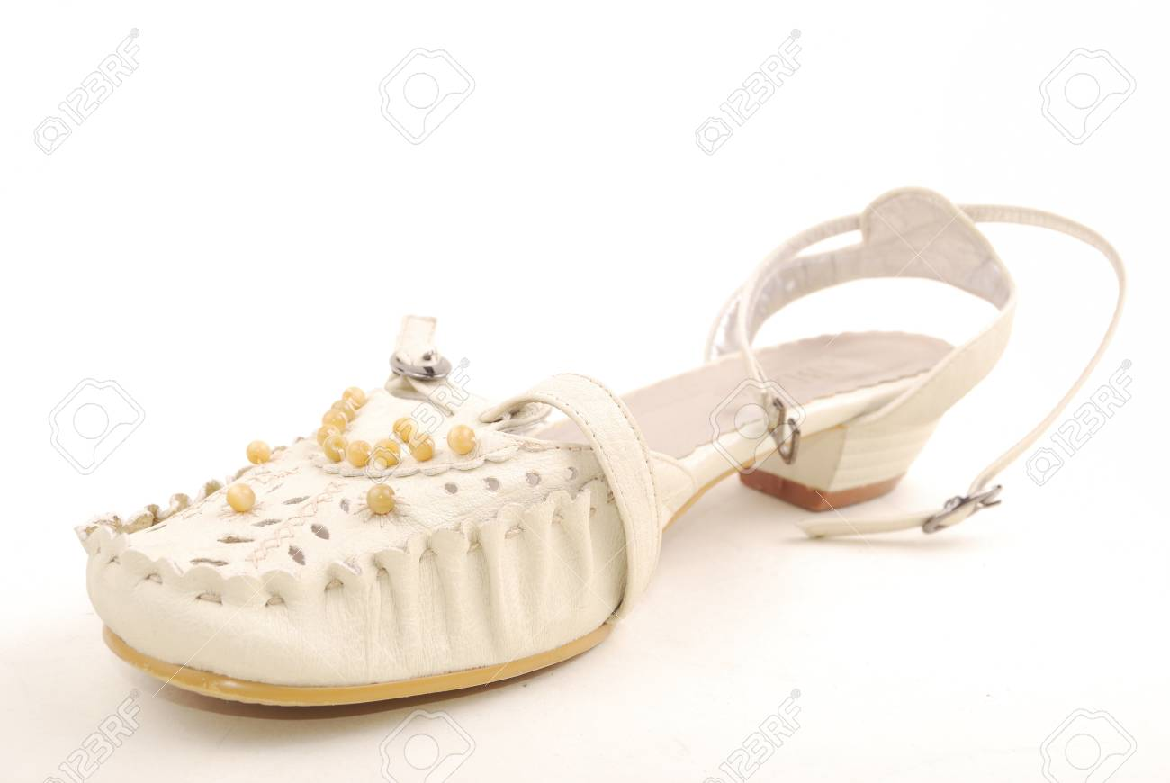 women shoe isolated on a white background Stock Photo - 9210540