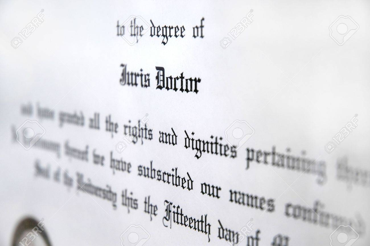 Is a juris doctor a doctoral degree