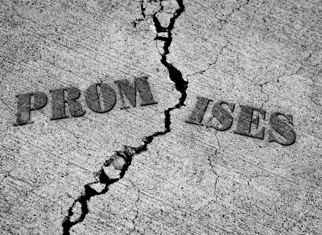 Image result for picture of broken promise
