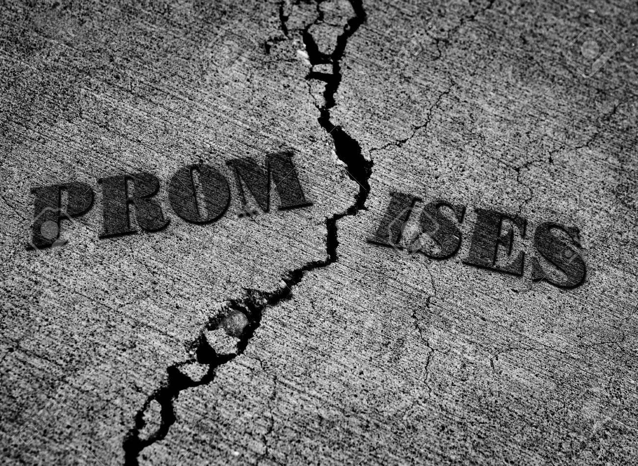 Risultati immagini per promesse non mantenute