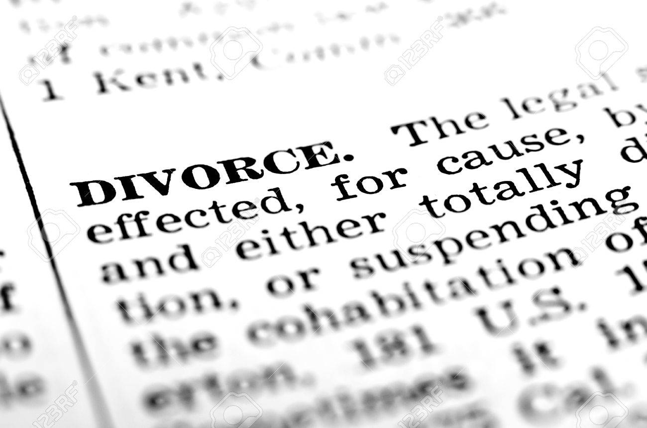 Symbol of broken marriage with word and definition of divorce symbol of broken marriage with word and definition of divorce stock photo 44241557 biocorpaavc