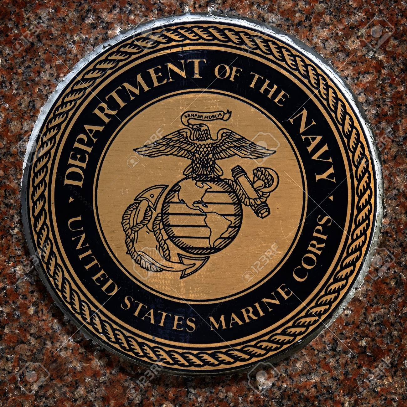 US military symbols for navy marines air force army for United