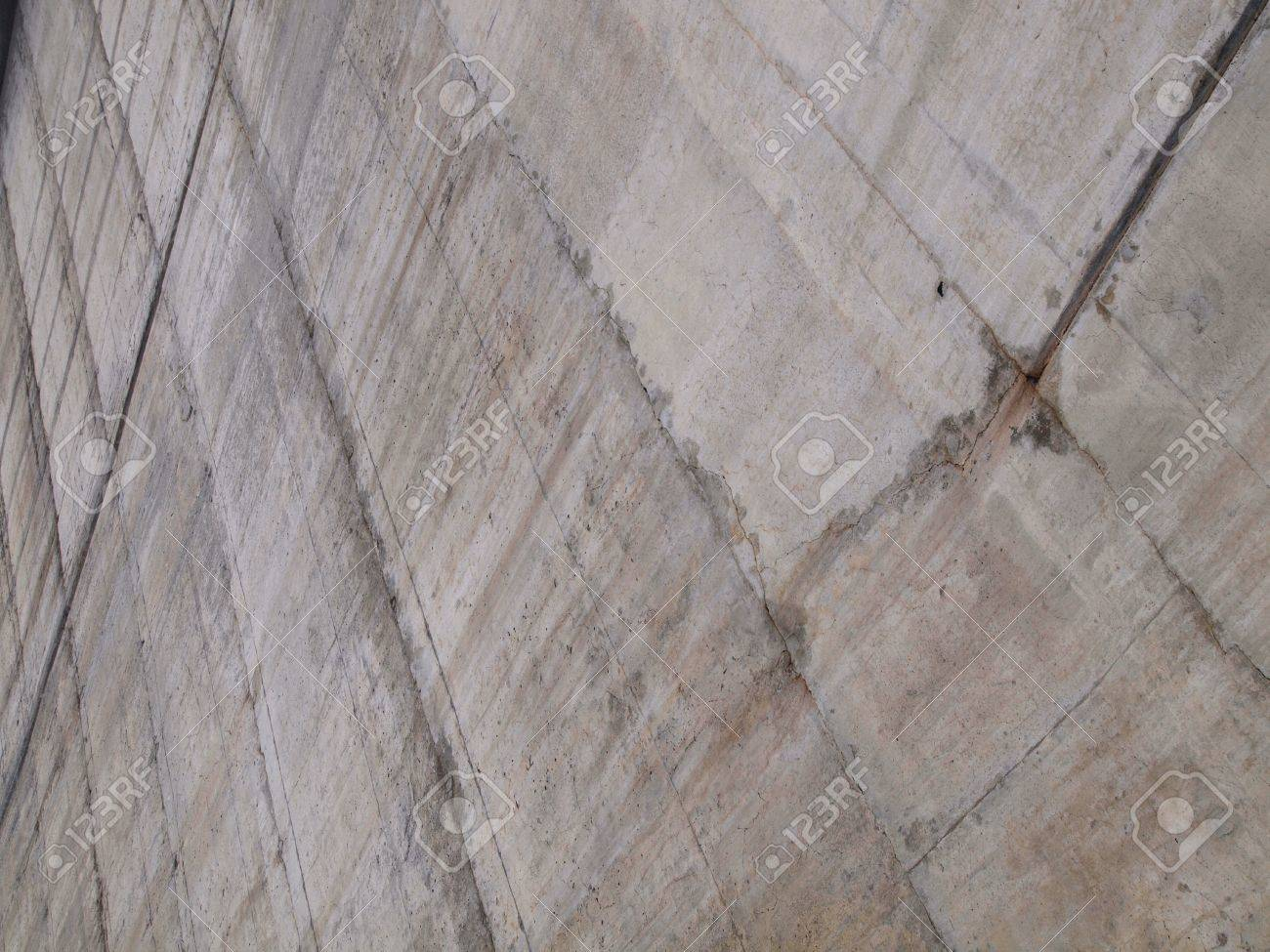 Concrete wall pattern of the Hoover Dam Stock Photo - 12731911