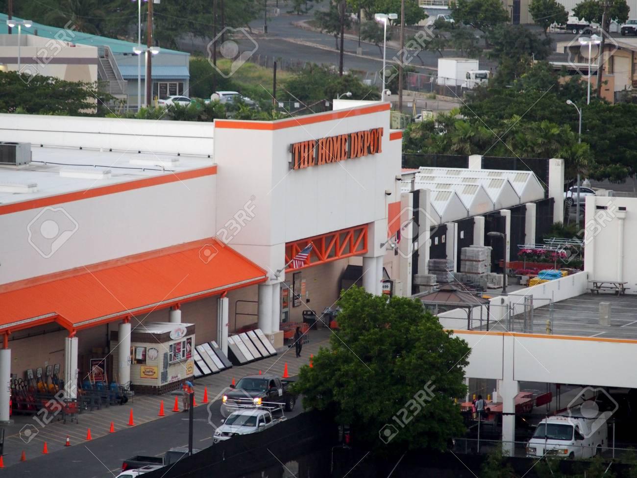 Honolulu Hi Usa January 12 2016 Oahu Home Depot Founded