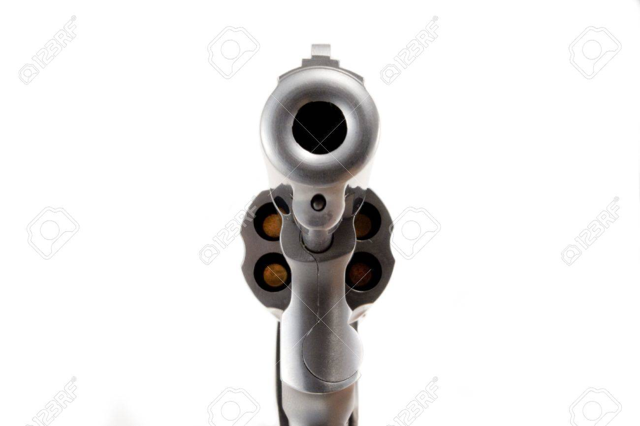 Looking Down The Barrel Of A Gun Stock Photo Picture And Royalty Free Image Image 4470886
