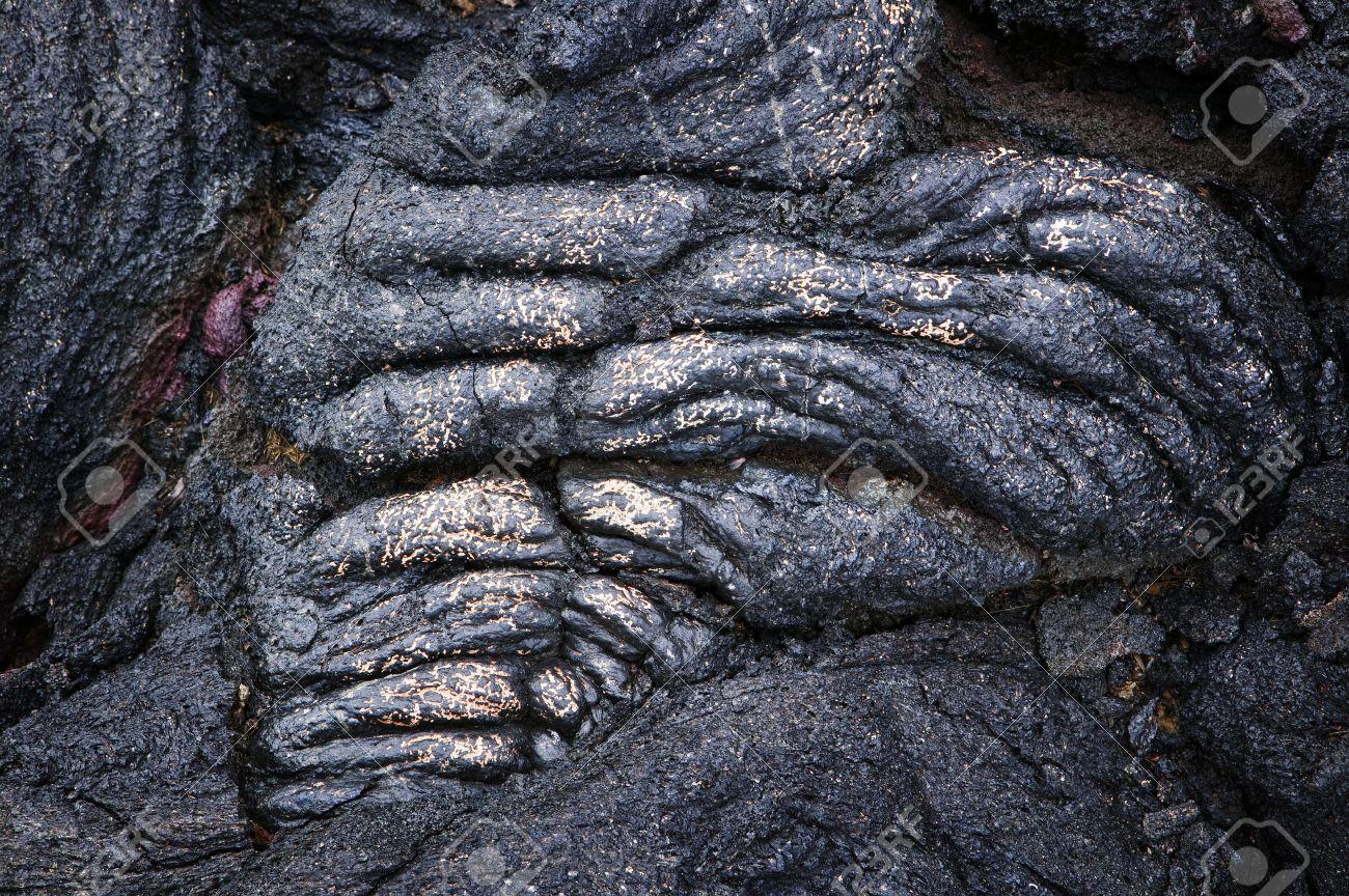 Heart-Shaped Lava Rock, Volcanoes National Park, Hawaii Stock Photo - 7814771