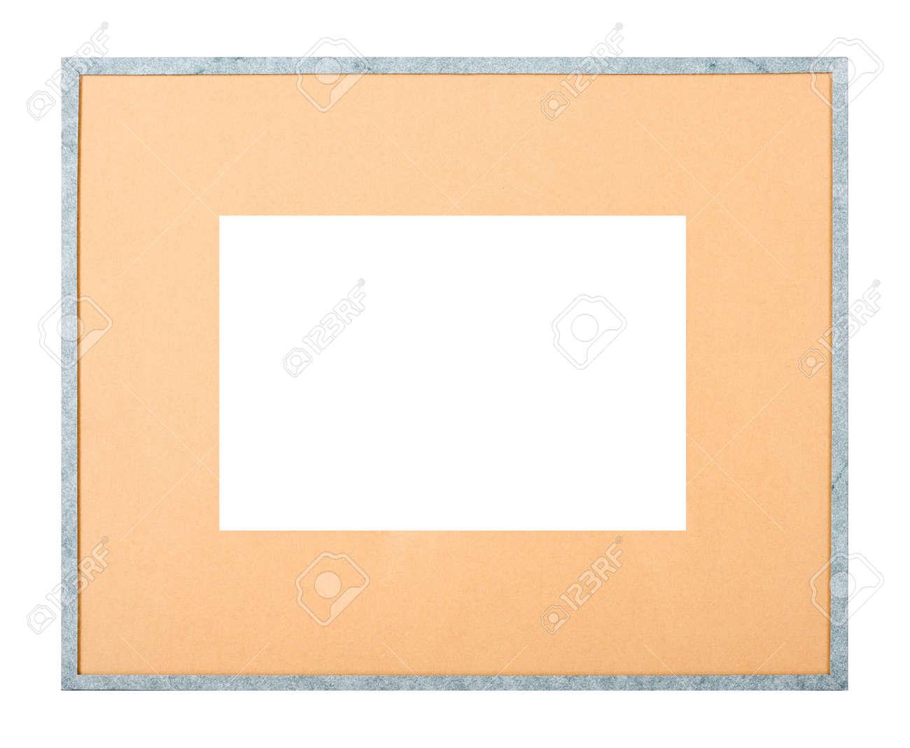 Modernen Stil Grau Bilderrahmen Mit Pappe Matte Schneiden Sie