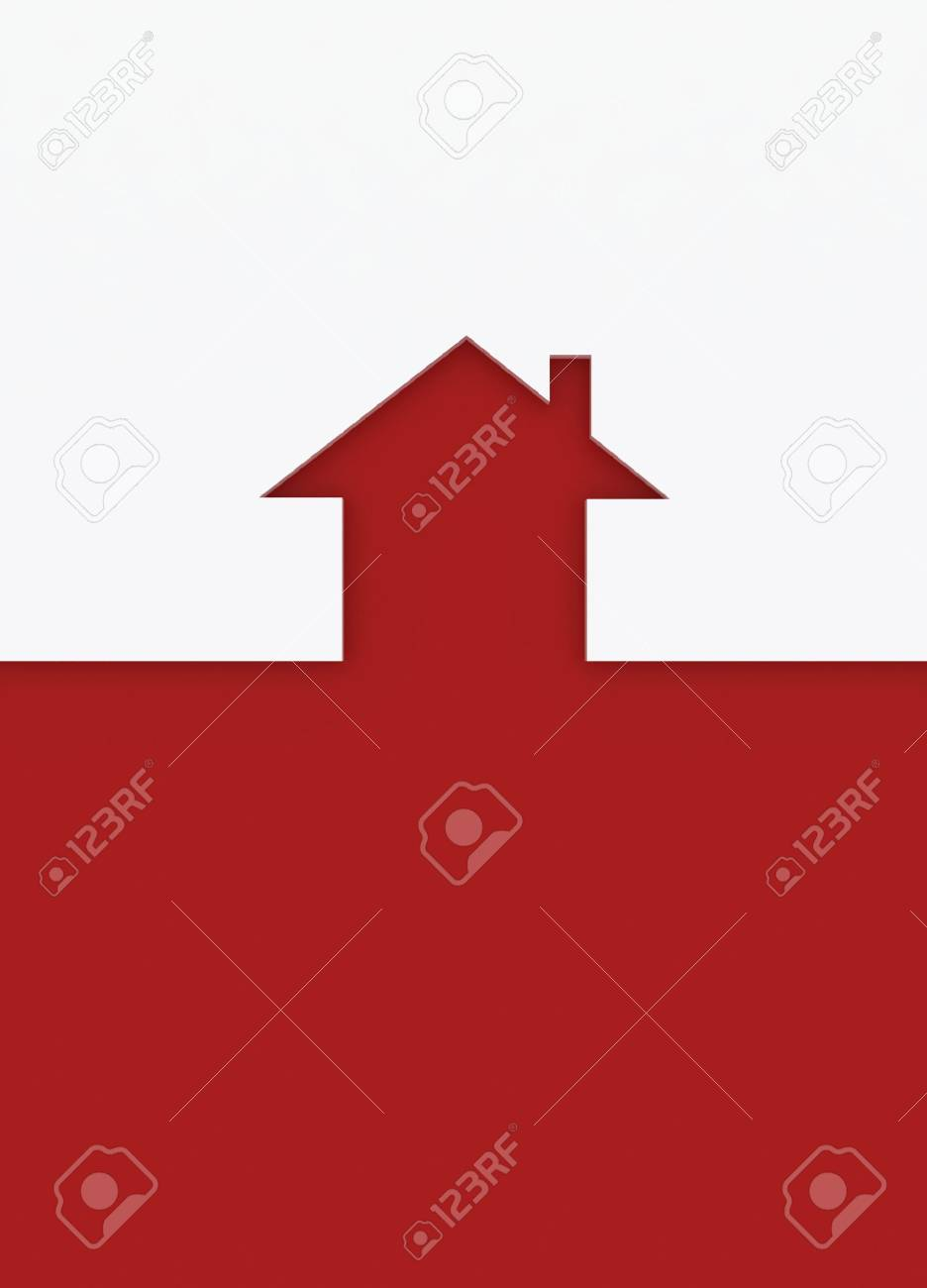 Fine 3d image metaphor of Red house sign Stock Photo - 6301511