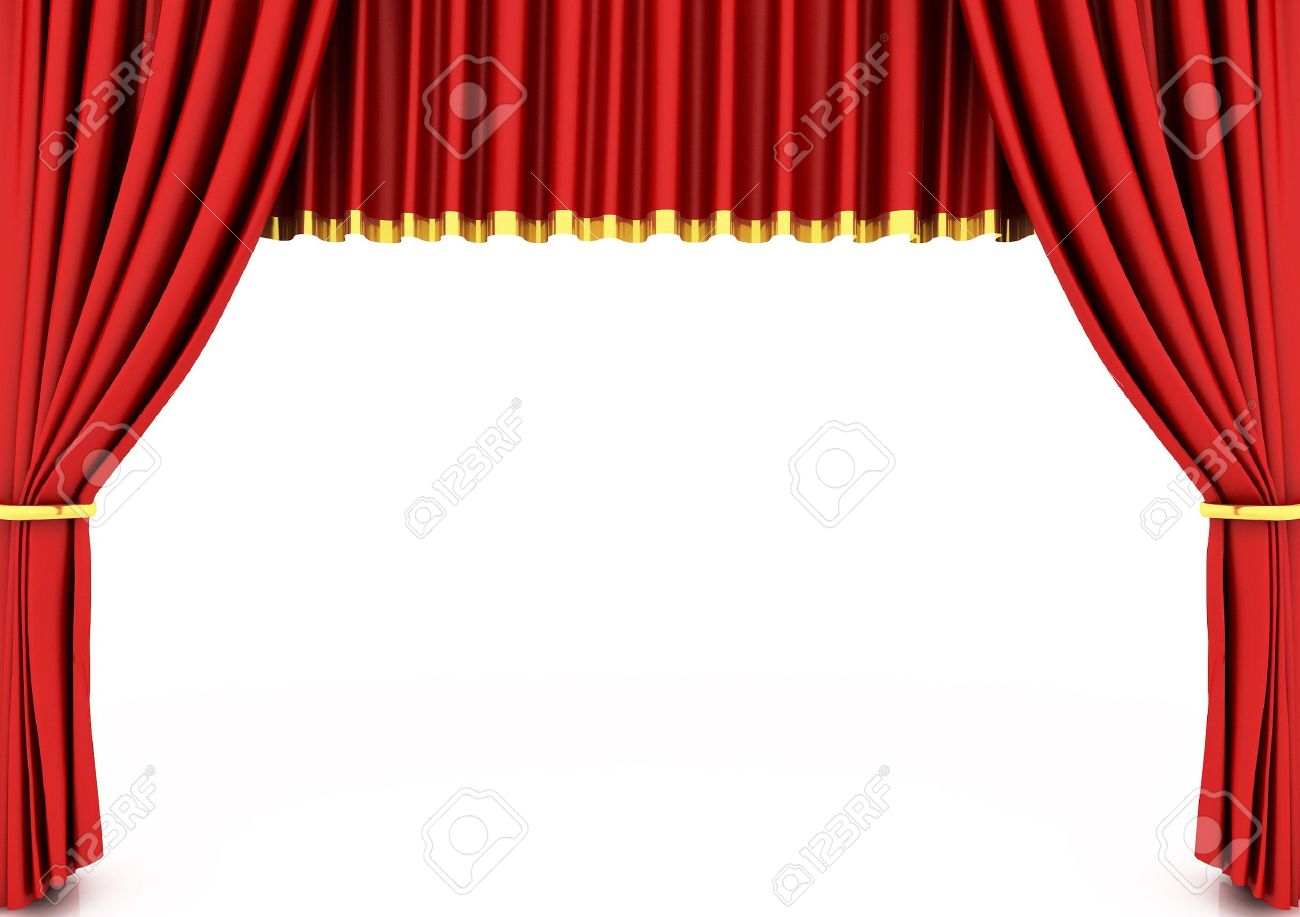 Theatre Curtain: Red Theater Curtain