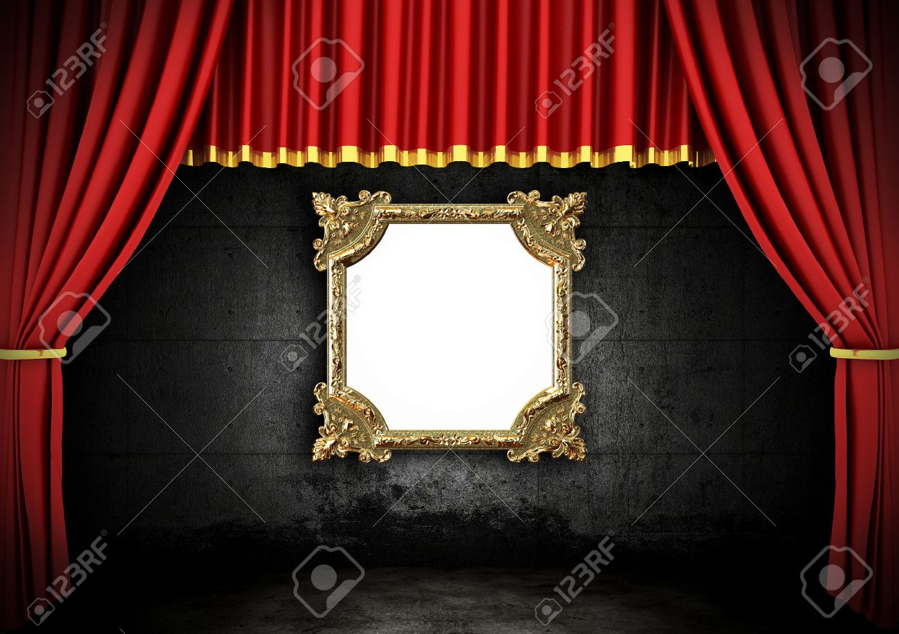 theater graphics freevector art vector com curtains drapes