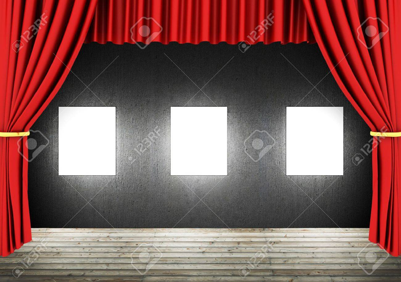 drapes free no curtains model preview theater royalty oth