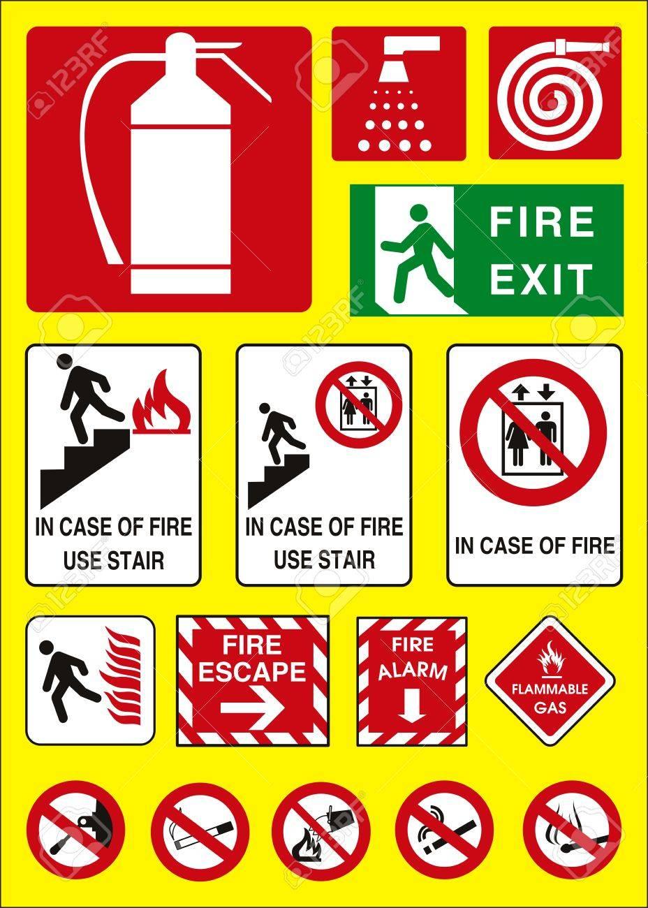 vector fire sign Stock Vector - 3794170