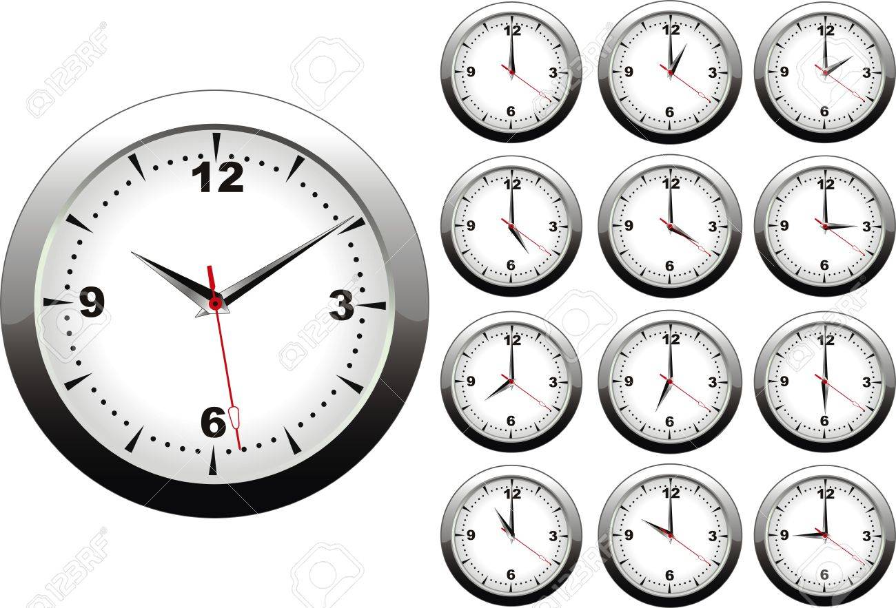 Vector illustration of wall clock with 12 hours royalty free vector illustration of wall clock with 12 hours stock vector 4791135 amipublicfo Image collections