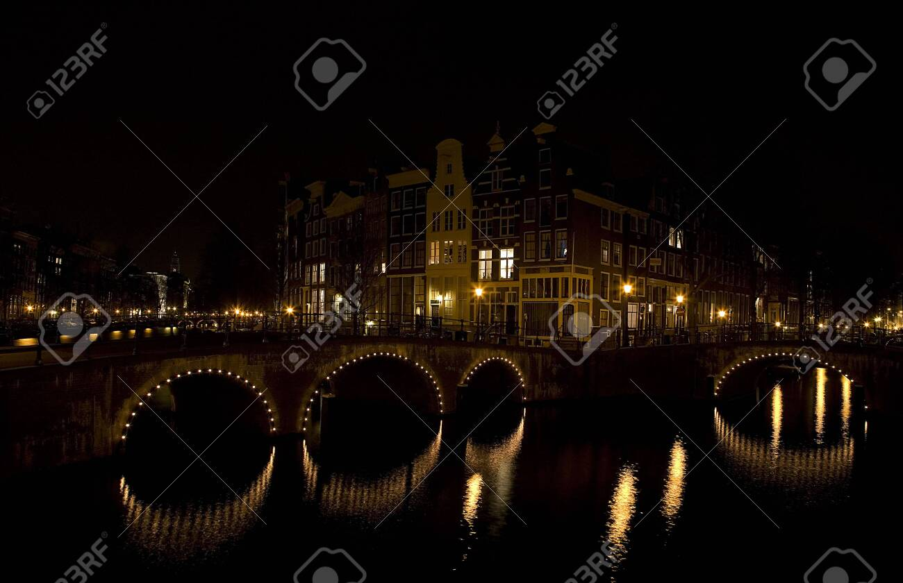 Amsterdam night 6 Stock Photo - 819833