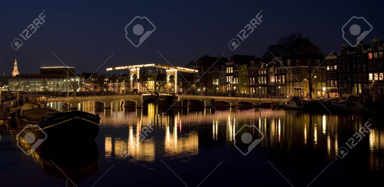 Amsterdam night 11 Stock Photo - 857592