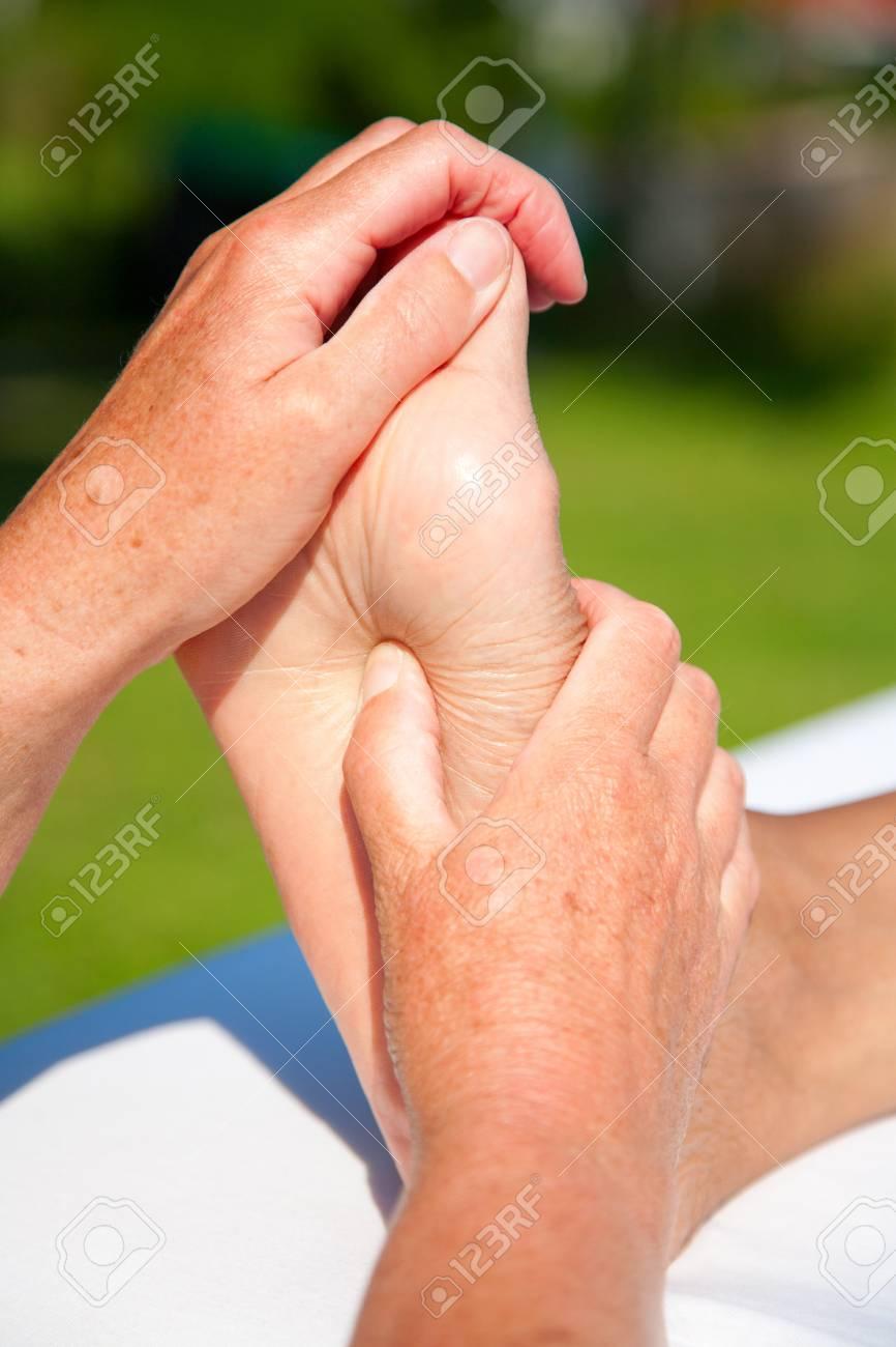 Polarity massage Stock Photo - 15737167