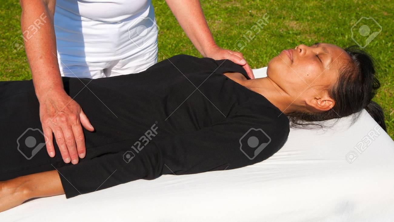 Polarity massage Stock Photo - 15742703