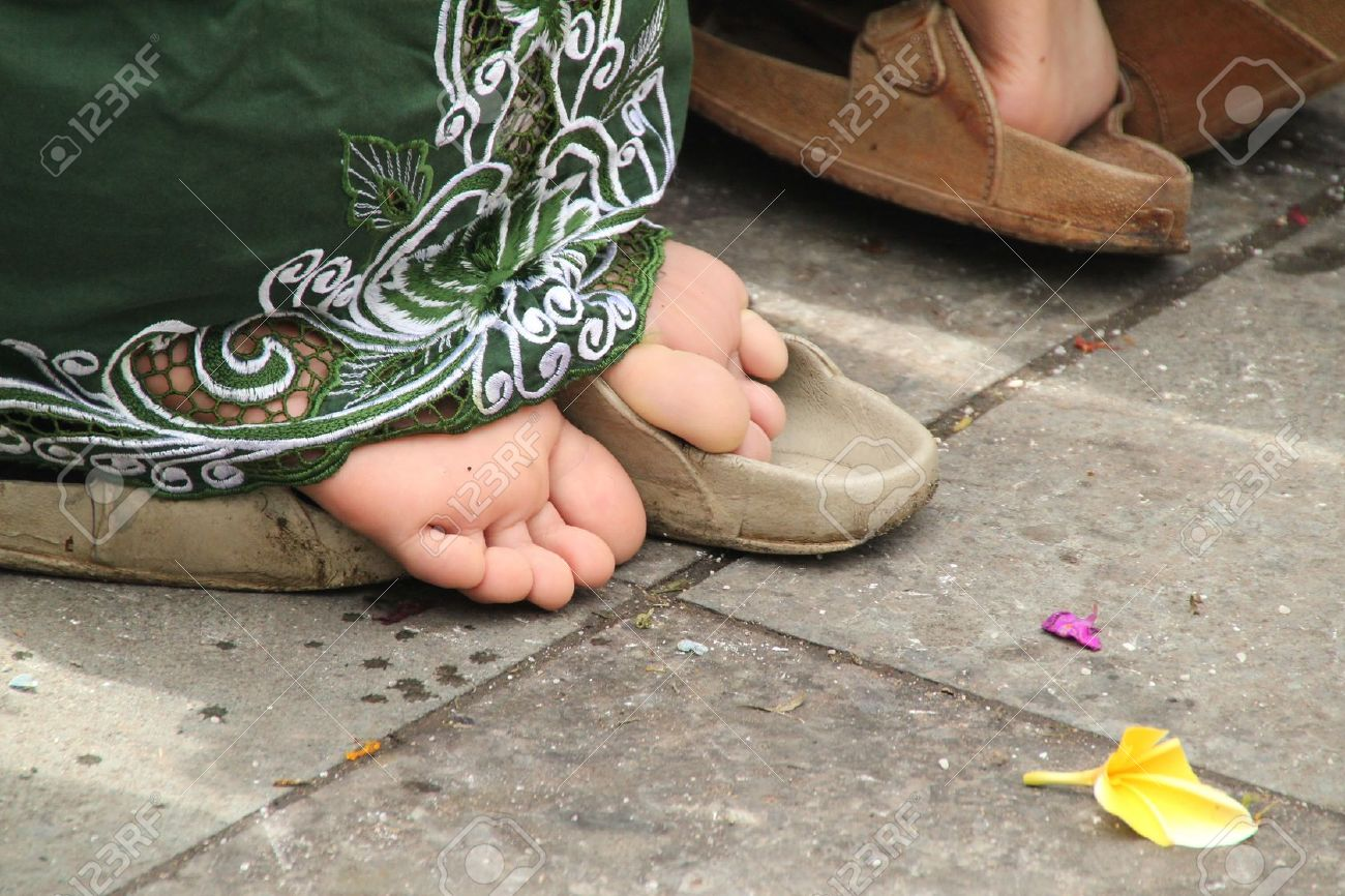 Lotus Feet Stock Photo, Picture And Royalty Free Image. Image ...