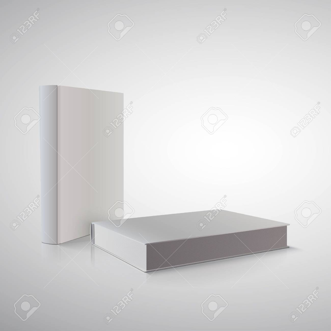 book in perspective on white Stock Vector - 21784580