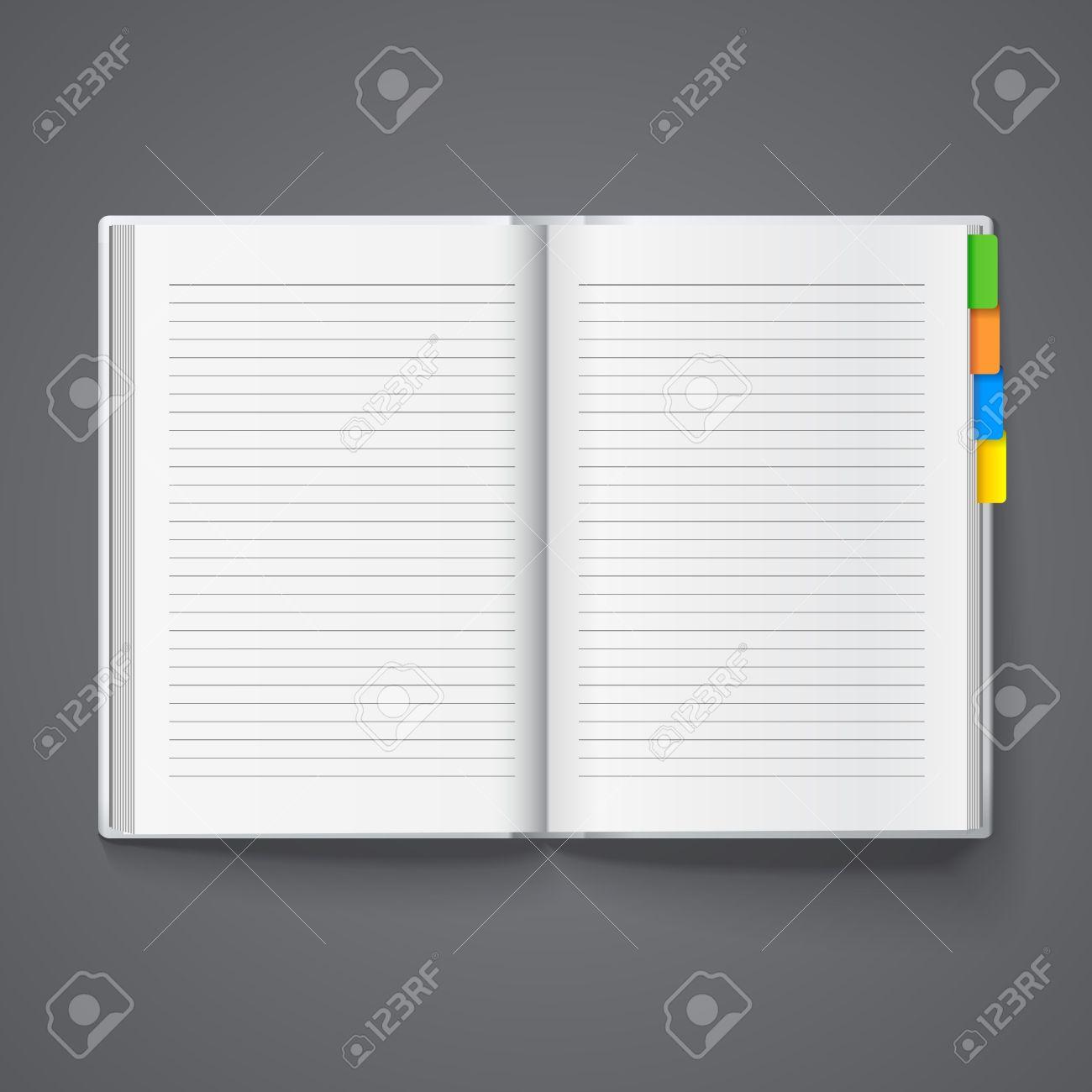 日記テンプレートのノートのノー...