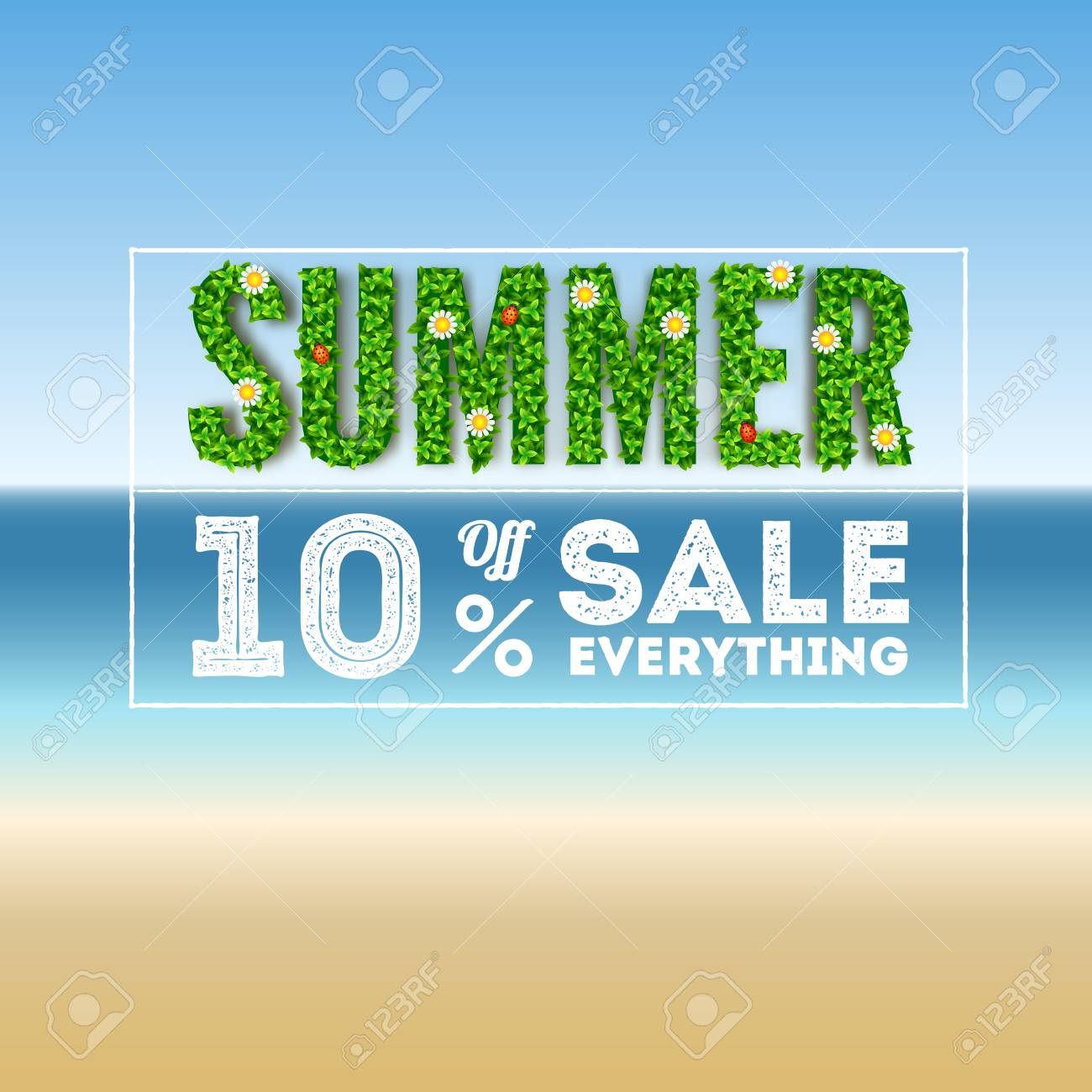 Large Letters For Sale Beauteous Summer Salelarge Letters With Green Foliage And An Inscription 2018