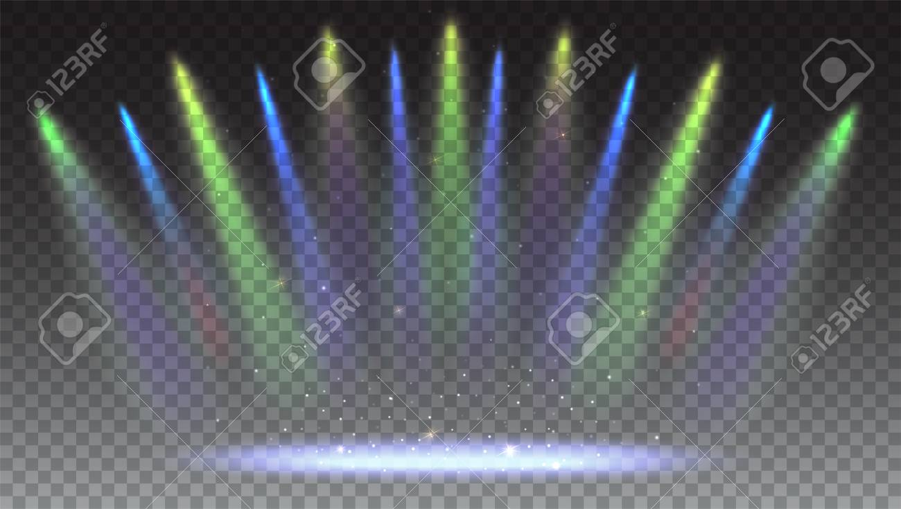 Iluminación Brillante Con Focos Para Colorear Proyector