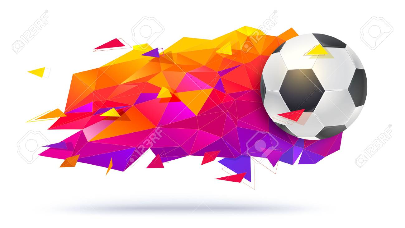 Graphic Design For Football Teams Or Tournaments Championships Royalty Free Cliparts Vectors And Stock Illustration Image 95894235