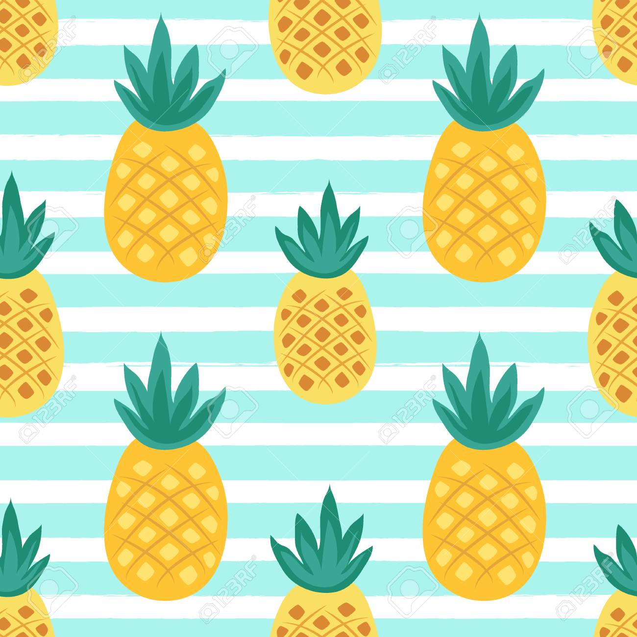 Cute seamless pattern with tropical palm leaves for your decoration - 82617938
