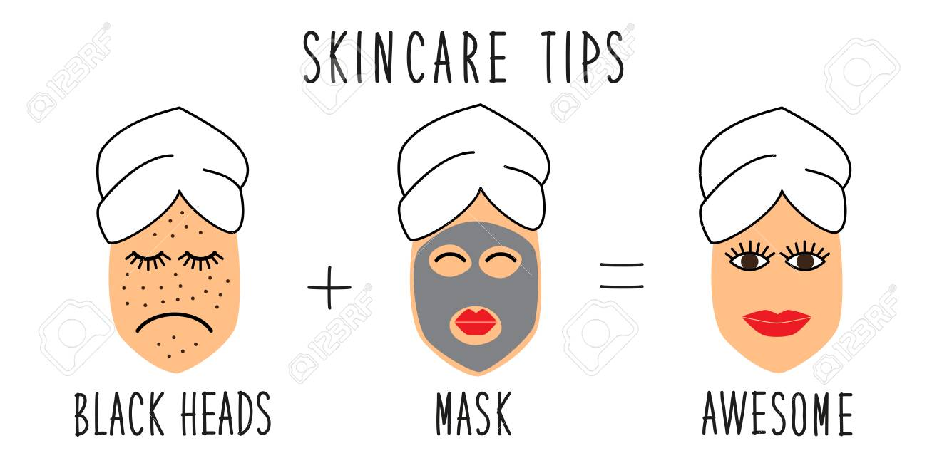 cute and simple skincare tips for black heads treatment, how..