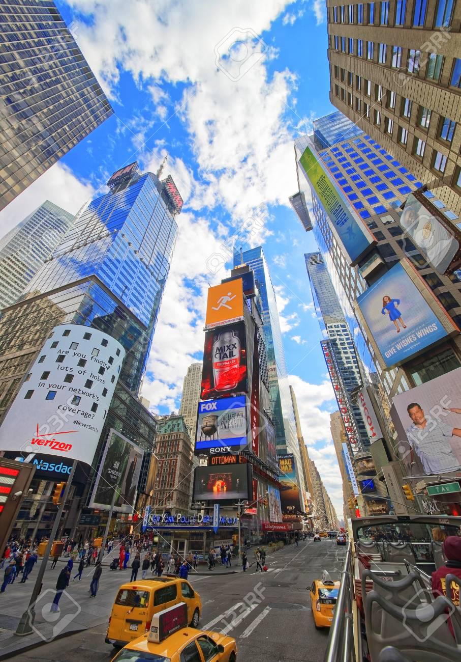ニューヨーク、アメリカ合衆国 - 2015 年 4 月 24 日: ブロードウェイ ...