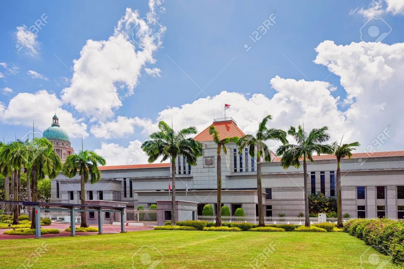 旧最高裁判所とシンガポールの国...