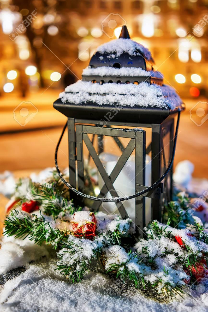 Weihnachtsmarkt Anfang.Stock Photo