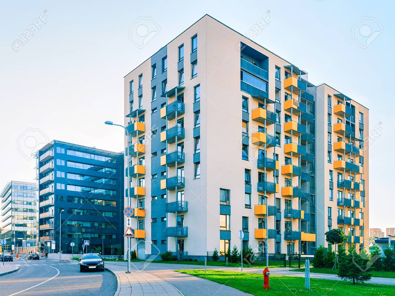 Complex of new apartment houses - 91407718