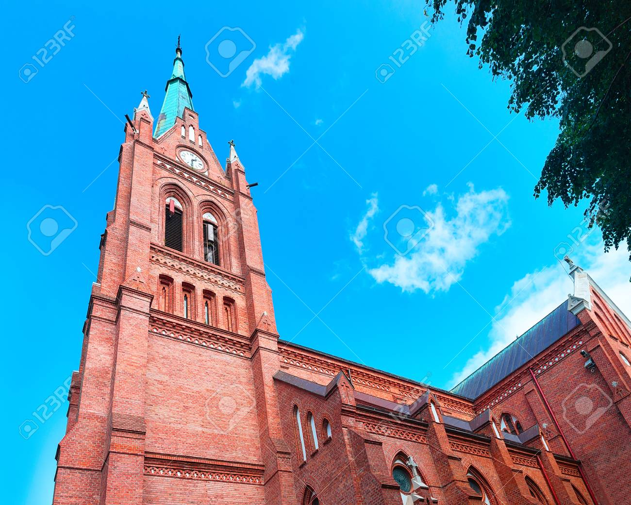 Church of Assumption of Virgin Mary in Palanga, Lithuania - 91262101