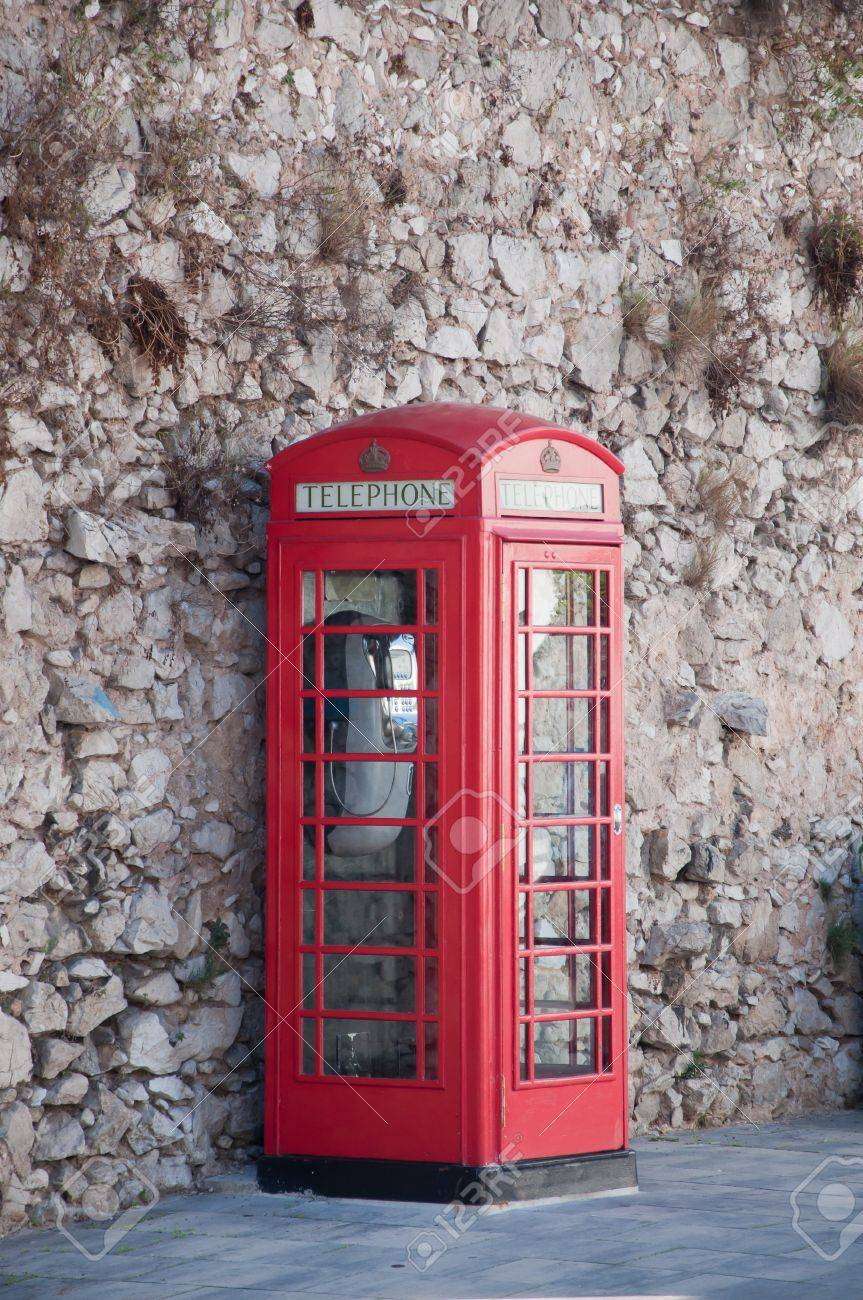 English phone booth Stock Photo - 8277017